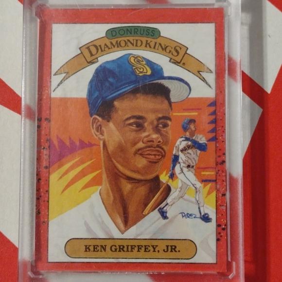 Ken Griffey Jr. Donruss rookie